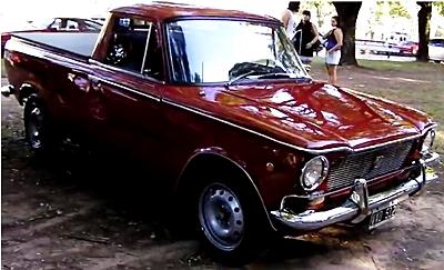 Un Pick-up su base Fiat 1500